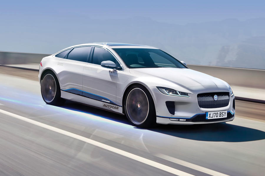 jaguar j pace to arrive in 2021 as flagship suv autocar. Black Bedroom Furniture Sets. Home Design Ideas