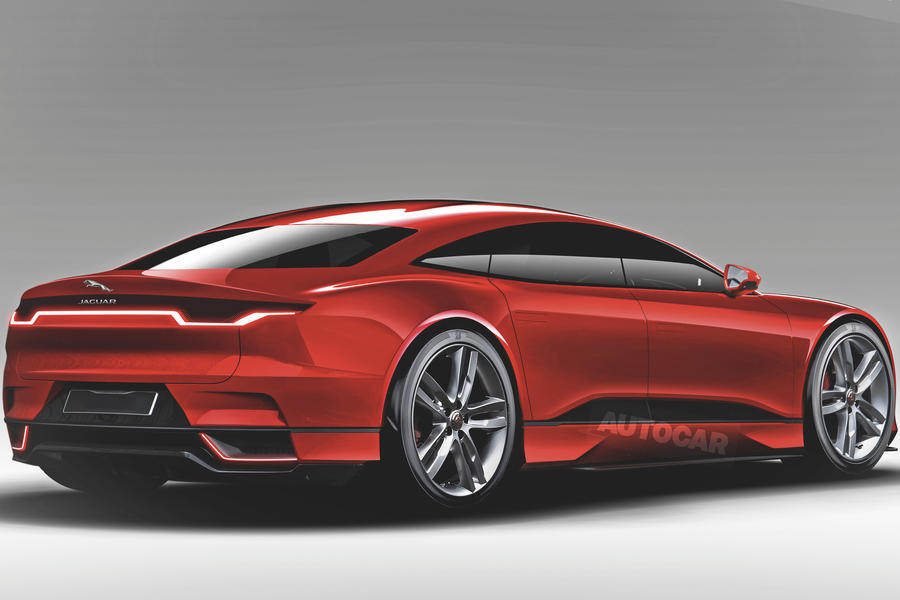 Jaguar XJ 2019 render