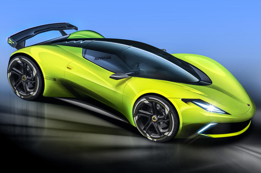 Lotus confirms forthcoming all-electric hypercar