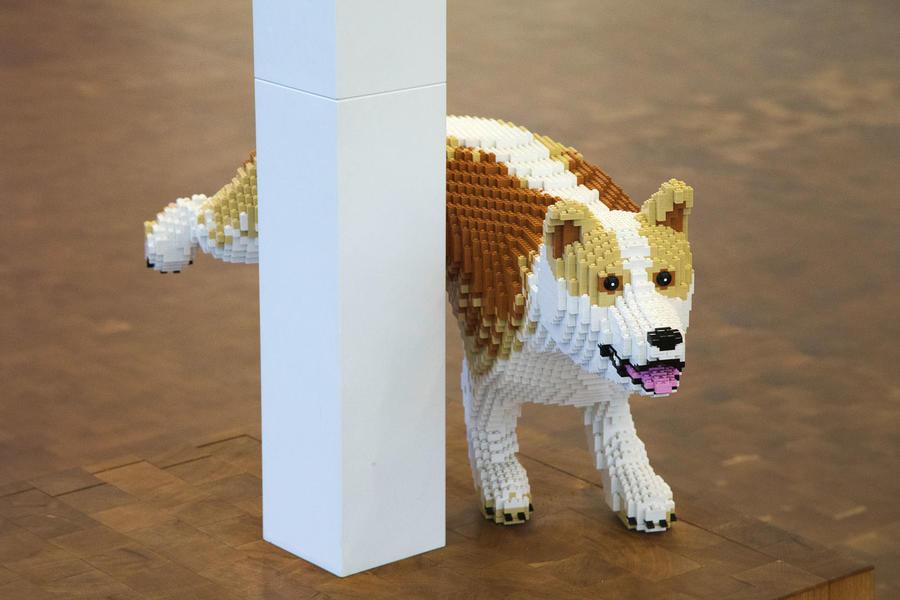 Au Danemark en Mini: Conduire la 10 millionième Mini au siège de Lego luc10001