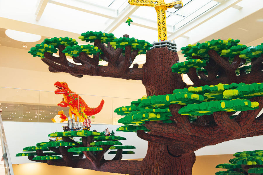 Au Danemark en Mini: Conduire la 10 millionième Mini au siège de Lego luc10065