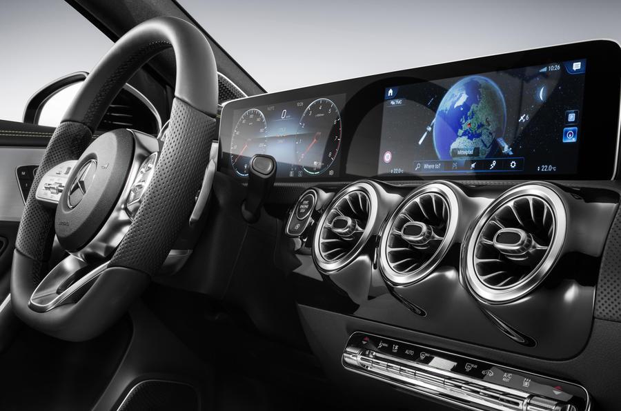 Mercedes Benz Showcases New A Class S Luxury Interior Autocar