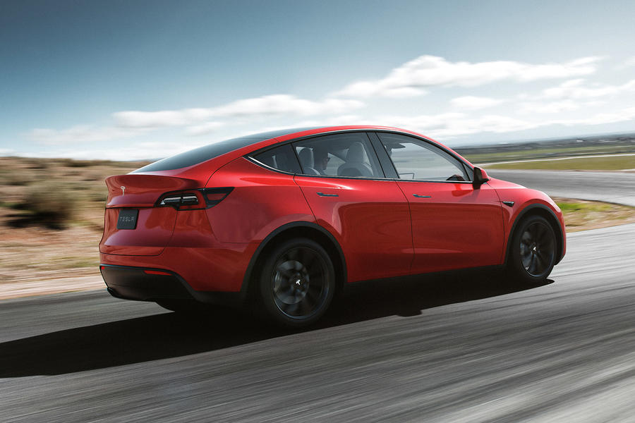 Tesla Unveils Its Electric SUV Crossover Vehicle, the Tesla Model Y
