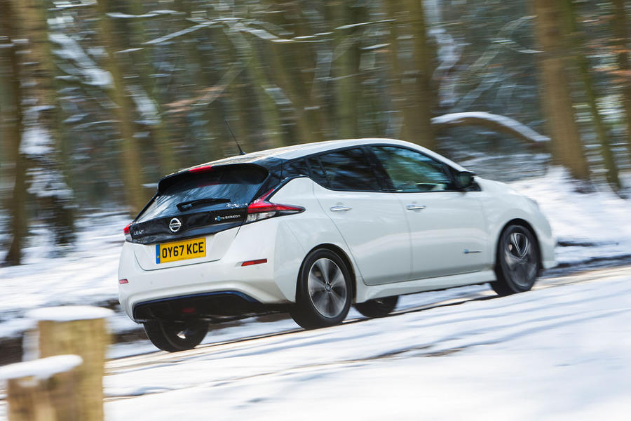 nissan leaf  uk review autocar