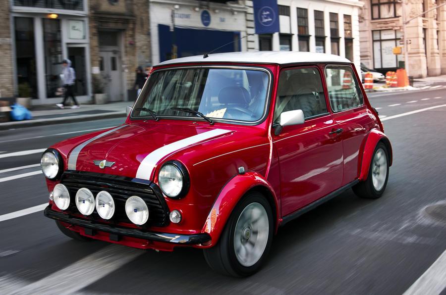 Classic Mini Electric First Drive Of Oneoff EV Autocar - Classic mini car