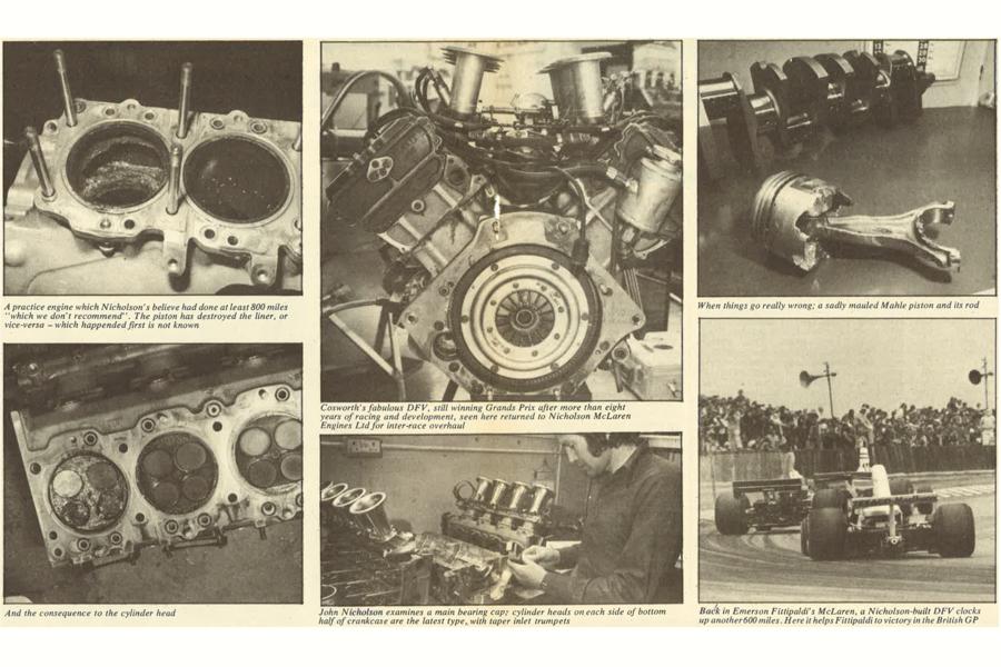 Throwback Thursday: Servicing Cosworth DFV Formula 1 engines