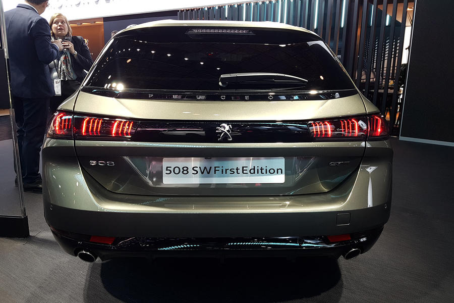 Peugeot 508 Sw First Edition Makes Its Debut At Paris Autocar