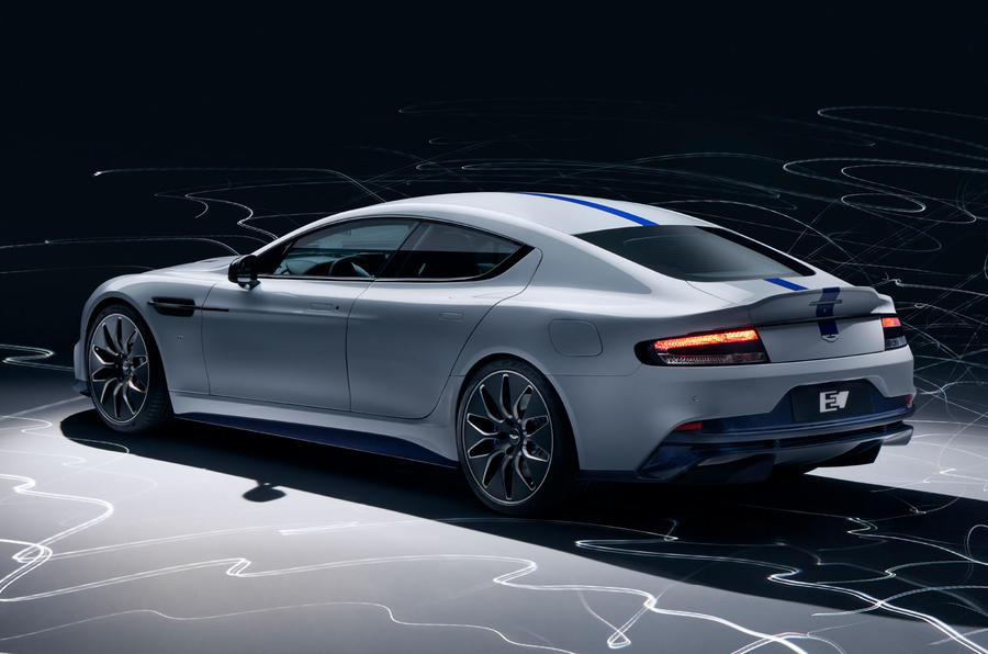 New Aston Martin Rapide E revealed with over 600bhp