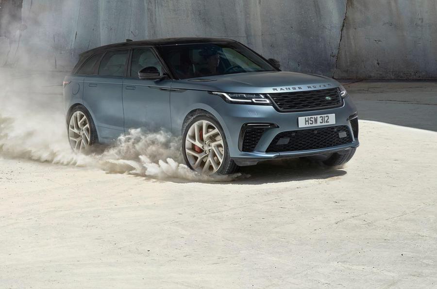 Land Rover launches 170mph Range Rover Velar SVA