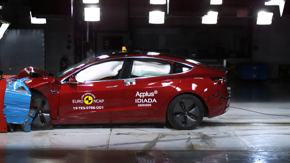 Tesla's Model 3 scores highest yet in NCAP testing