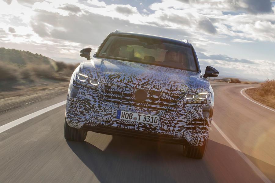 2019 VW Touareg: Larger, Lighter, Smarter, Agiler >> Volkswagen Touareg 3 0 Tdi 2018 Prototype Review Autocar