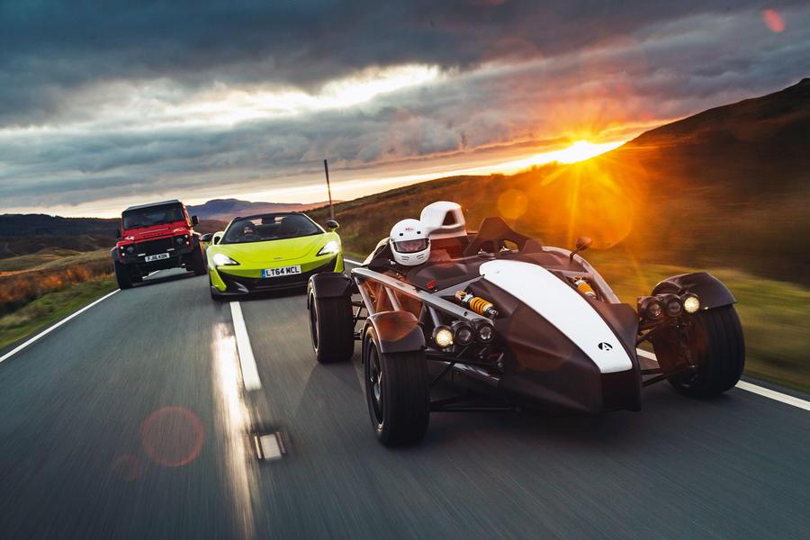 La voiture du meilleur pilote britannique 2019: les trois dernières top three 58