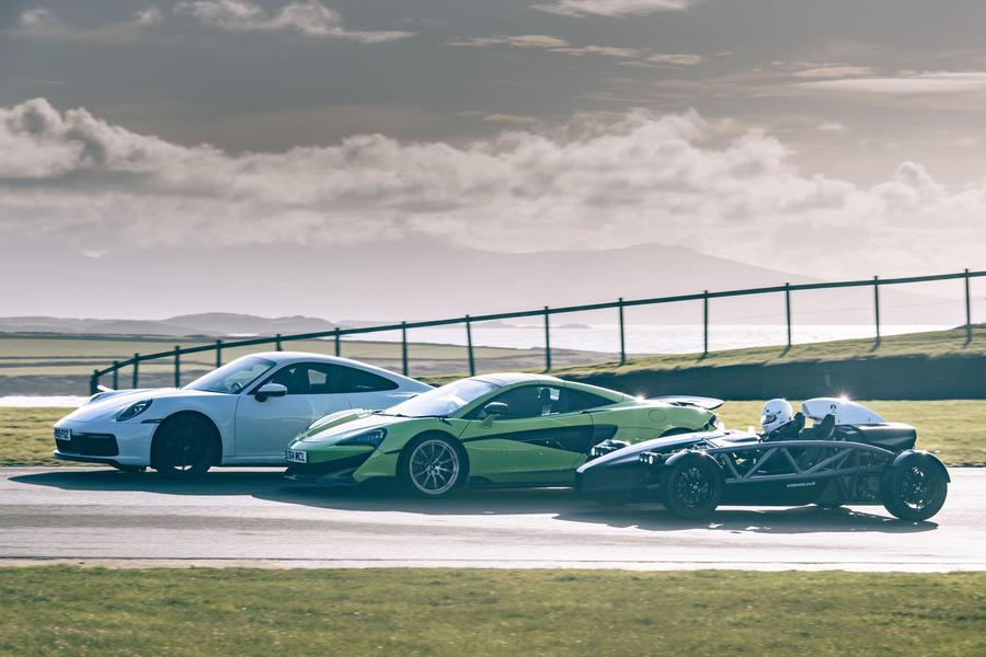 La voiture du meilleur pilote britannique 2019: les trois dernières top three 69