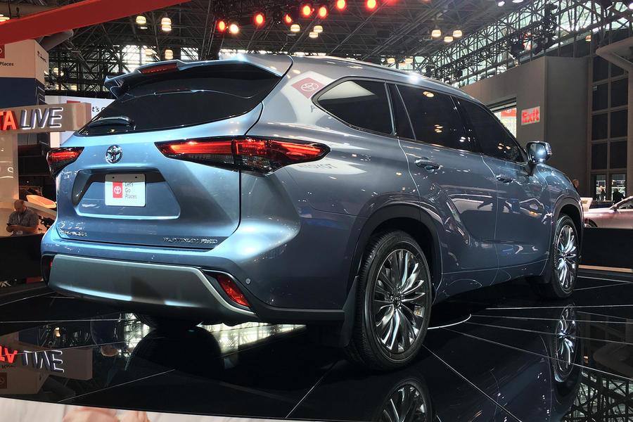 2019 Toyota Highlander gains new tech
