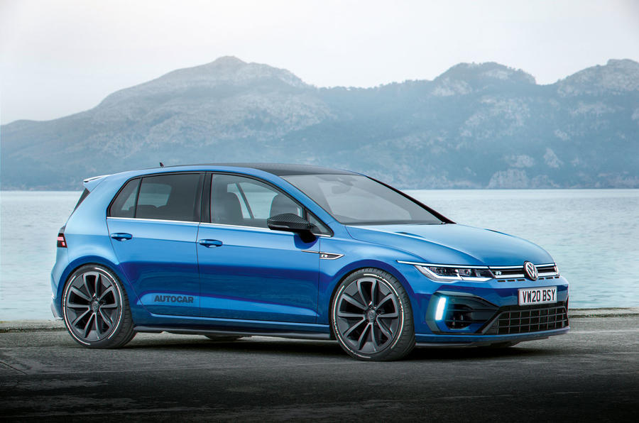 new volkswagen golf range to be topped by 400bhp r plus. Black Bedroom Furniture Sets. Home Design Ideas