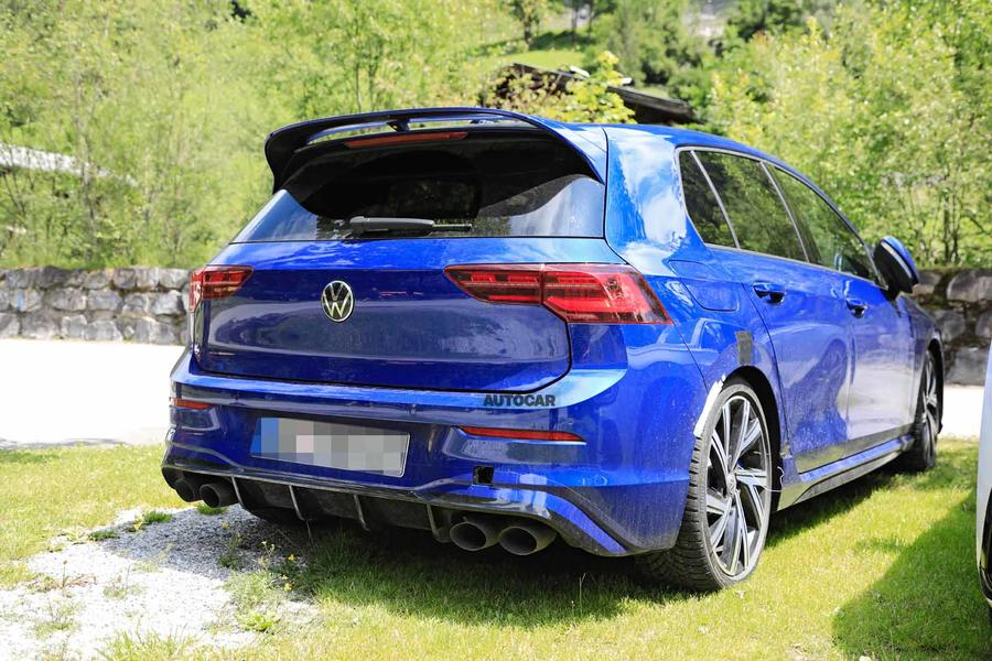 New 2020 Volkswagen Golf R: best look yet at 329bhp hot ...