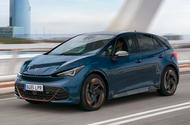 1 Cupra Born 2021 first drive review hero front