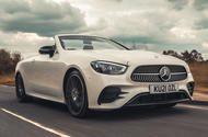 1 Mercedes Benz E Class Cabriolet 2021 road test review hero front