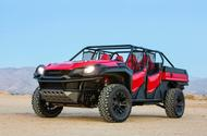 Honda Rugged Open Air Vehicle concept front three quarters