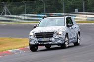 Mercedes GLB Nurburgring spies front