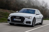 Audi A6 2018 review hero front