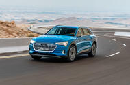 Audi E-tron quattro 2018 first drive review - hero front