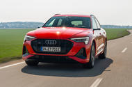 Audi e-tron Sportback 55 2020 first drive review - hero front