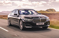 BMW 7 Series 730Ld 2019 UK first drive review - hero front