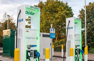 BP Chargemaster EV chargers