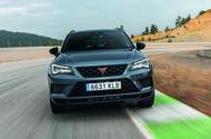 Cupra Ateca 2018 prototype first drive review hero front