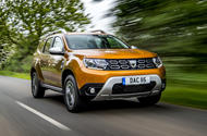 Dacia Duster 2018 first drive review hero front