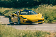 Ferrari F8 Tributo Spider 2020 UK first drive review - hero front