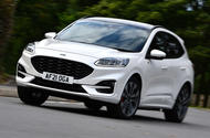 1 Ford Kuga Ecoblue MHEV 2021 UK first drive hero front