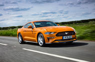 Ford Mustang GT 5.0 2018 UK review hero front
