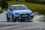 Hyundai i30 N 2020 UK first drive review - hero front