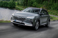 Hyundai Nexo 2019 first drive review hero front