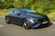 1 Mercedes Benz EQS 2021 UK LHD FD hero front