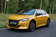 Peugeot 208 2020 prototype drive - hero front