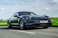 Premier essai de la Porsche Taycan Turbo 2020 UK - Hero Front