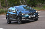 Renault Captur Iconic TCe 90 2018 UK first drive - hero front