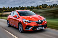 Renault Clio E-Tech hybrid 2020 UK first drive review - hero front