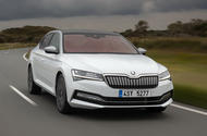 Skoda Superb iV 2020 first drive review - hero front