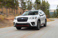 Subaru Forester 2019 first drive review hero front