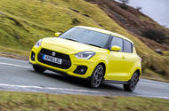 Suzuki Swift Sport 2018 review hero front
