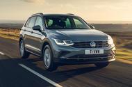 1 Volkswagen Tiguan 2021 UK FD hero front