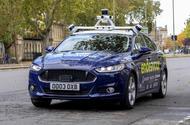 Autonomous Ford Mondeo - front