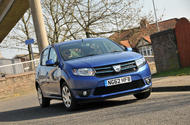 Dacia Sandero - static front