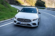 Mercedes-Benz A-Class A180D cornering front