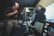 Racing lines: What it was like to be in the booth with Murray