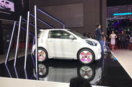 Toyota iQ city car reborn as China-only Singulato iC3 EV